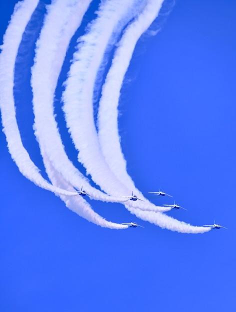 静浜基地航空祭 ブルーインパルスフェニックスループ(2) 20180520