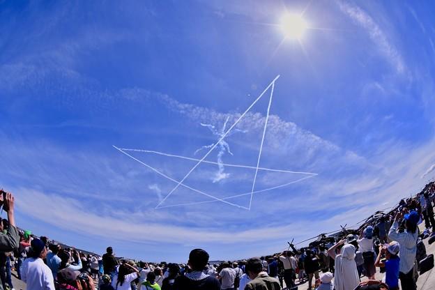 静浜基地航空祭 ブルーインパルス スタークロス 20180520