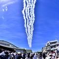 Photos: 静浜基地航空祭。。静浜の青空でデルタローパス(2) 20180520