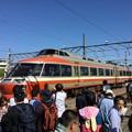 写真: 撮って出し。。ラストLSE見納め 小田急ファミリー鉄道展 10月20日
