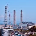 写真: 横須賀火力発電所。。解体風景 20180527