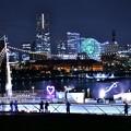 夜の横浜。。大さん橋から見るみなとみらい 20180601