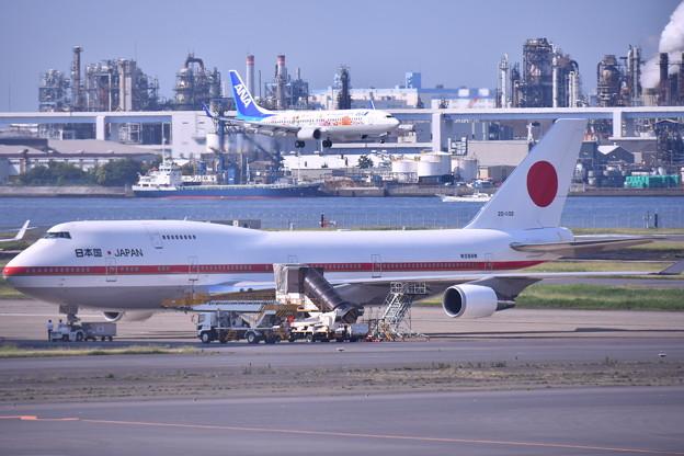 もう時期退役か。。政府専用機シグナスとアプローチ旅客機(1) 20180602