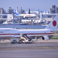 Photos: もう時期退役か。。政府専用機シグナスとアプローチ旅客機(1) 20180602