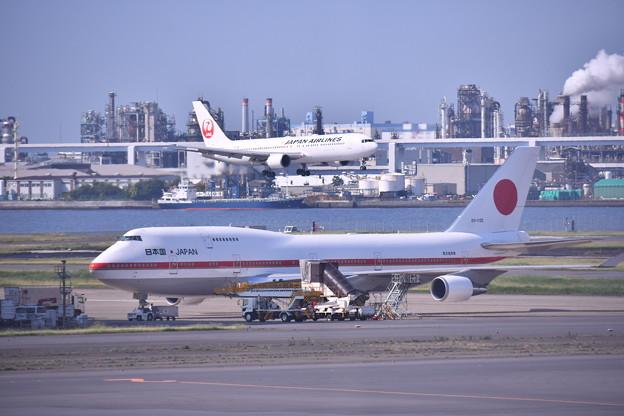 もう時期退役か。。政府専用機シグナスとアプローチ旅客機(3) 20180602