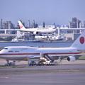Photos: もう時期退役か。。政府専用機シグナスとアプローチ旅客機(3) 20180602