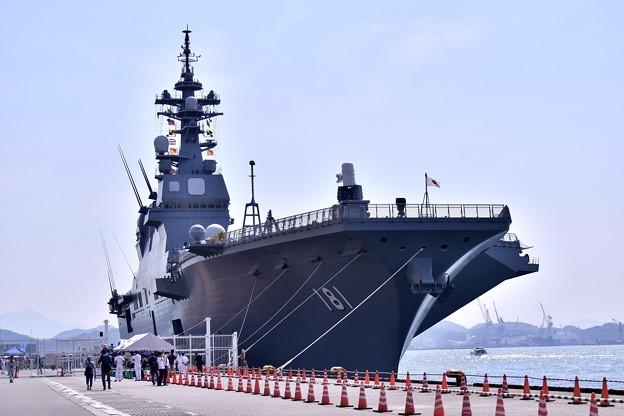 Photos: 北九州門司港へ一般公開された護衛艦ひゅうが(1) 20180602