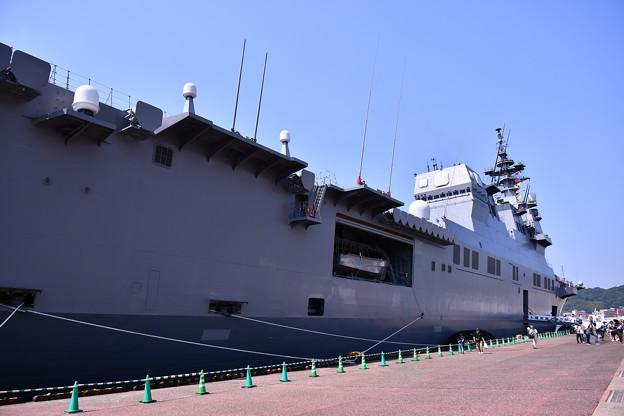 北九州門司港へ一般公開された護衛艦ひゅうが(2) 20180602