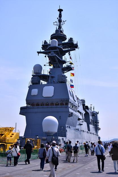 護衛艦ひゅうがのアイランド。。20180602
