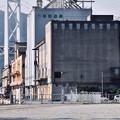 門司港レトロの町にある埠頭倉庫群 20180602