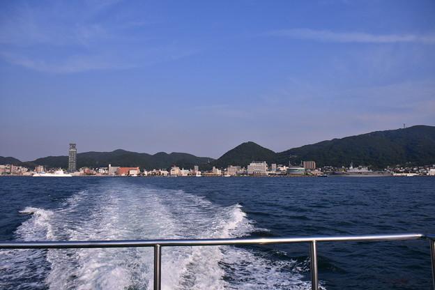 門司港から水上船に乗って山口県下関へ 20180602