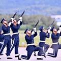 写真: 防府基地航空祭。。最後は鉄砲発砲