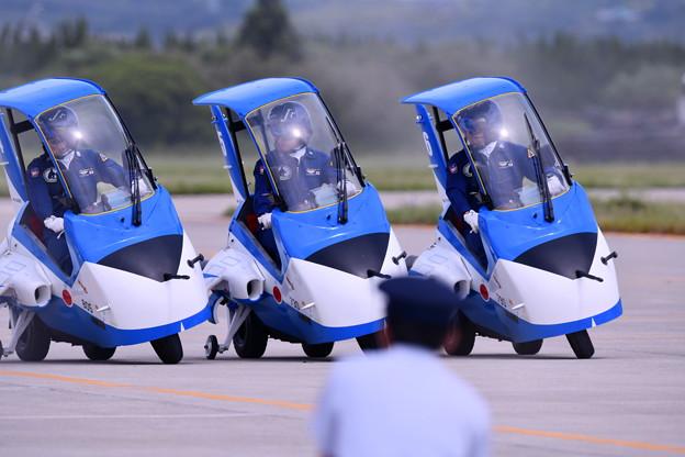 防府基地航空祭。。松島からブルーインパルスJr (2)