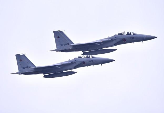 先輩達の華麗な機動飛行 新田原基地から黒馬F15イーグル(1)