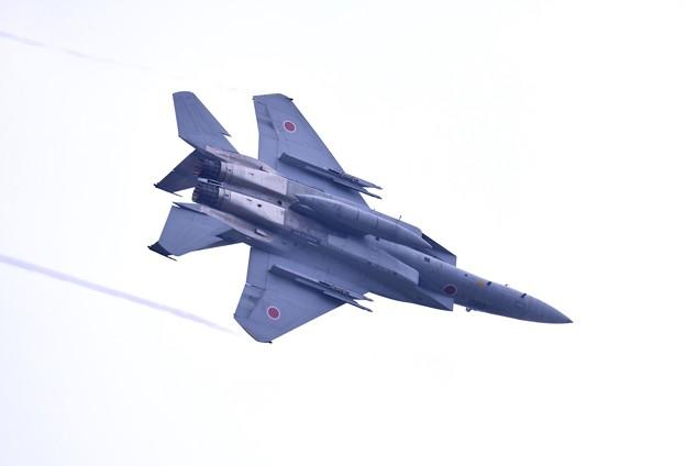 先輩達の華麗な機動飛行 新田原基地から黒馬F15イーグル(3)