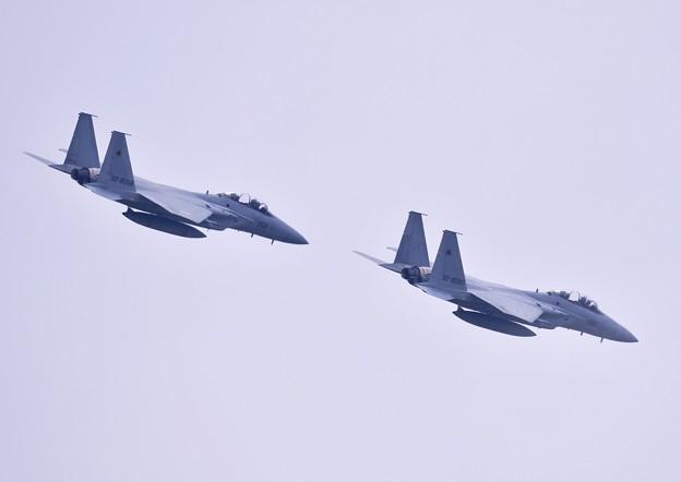 先輩達の華麗な機動飛行 新田原基地から黒馬F15イーグル(4)