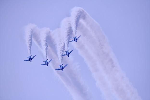 防府基地航空祭 ブルーインパルス デルタロール