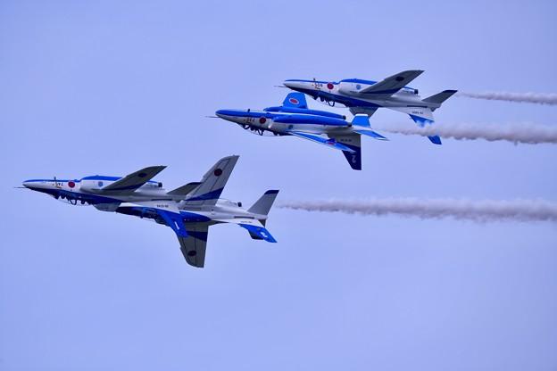 防府基地航空祭 ブルーインパルス フォーシップインバート