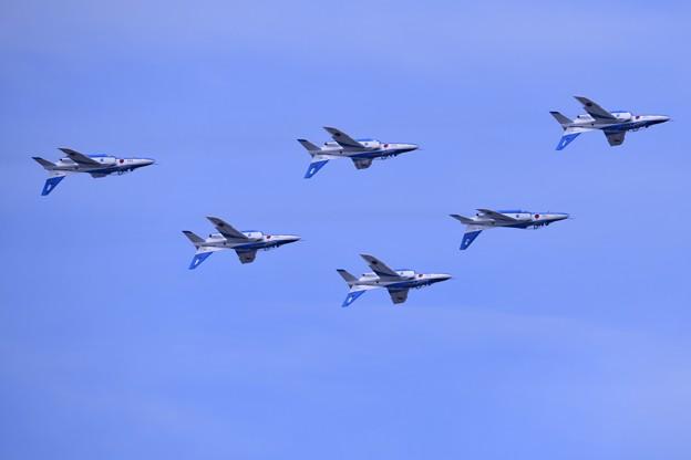 防府基地航空祭 ブルーインパルス ポントンロール