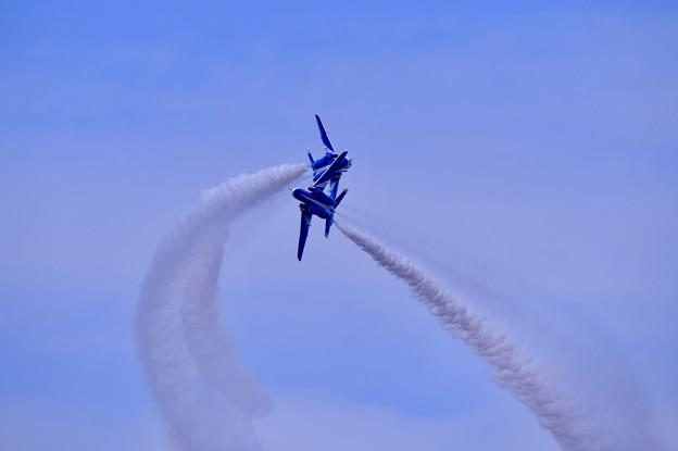 防府基地航空祭 ブルーインパルス タッククロス
