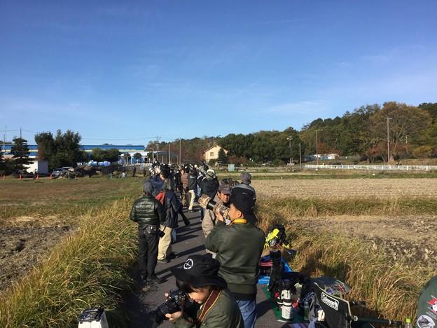 撮って出し。。岐阜基地航空祭の人気スポット 1118日