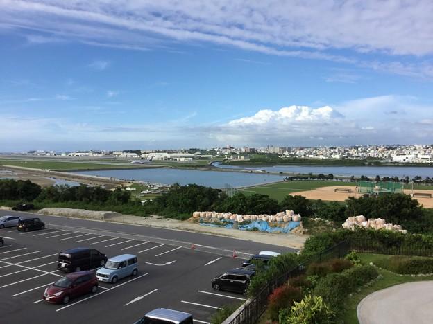 那覇空港から瀬長島へ。。那覇空港の風景 20180617