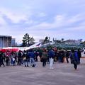 撮って出し。。人気展示 百里の白ファントムと昨年のスペマデジタル迷彩ファントム共演 11月18日