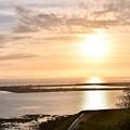 沖縄瀬長島の夕陽。。南国の日暮れ 20180617