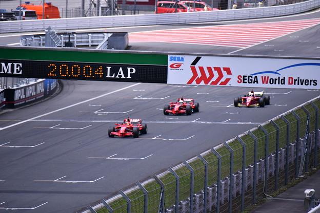 富士スピードウェイコントロールライン通過フェラーリF1(1) 20180630