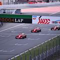 写真: 富士スピードウェイコントロールライン通過フェラーリF1(1) 20180630
