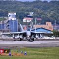 Photos: 先日本国へ帰投したVAQ138イエロージャケッツ グラウラー 横田基地(1) 20180701