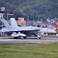 Photos: 先日本国へ帰投したVAQ138イエロージャケッツ グラウラー 横田基地(2) 20180701