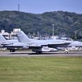 Photos: 先日本国へ帰投したVAQ138イエロージャケッツ グラウラー 横田基地(3) 20180701