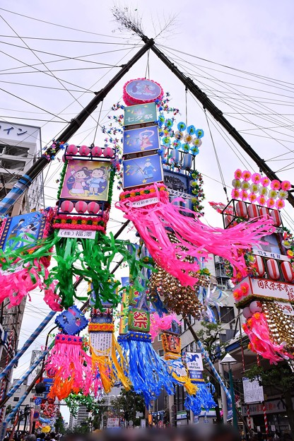 写真: 今年の湘南ひらつか七夕まつり風景(2) 20180707