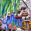 写真: 今年の湘南ひらつか七夕まつり風景(3) 20180707