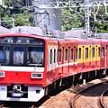 Photos: 2018年振り返って。。京急120周年の歩み号特別塗装車両1500系 本線走る(1) 20180814