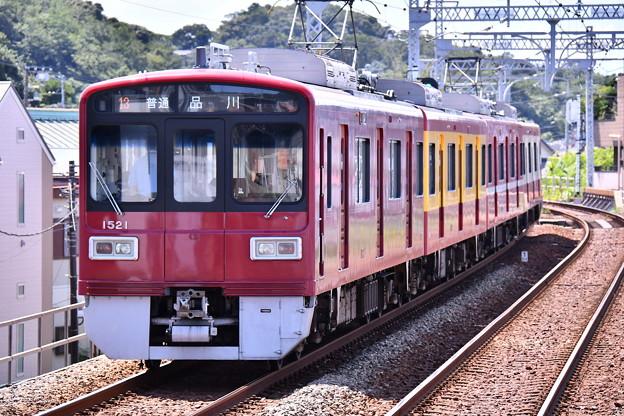 2018年振り返って。。京急120周年の歩み号特別塗装車両1500系 本線走る(3) 20180814