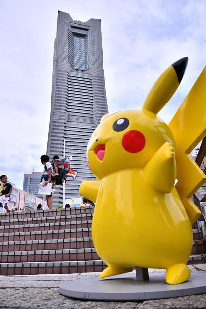 2018年振り返って。。横浜みなとみらいピカチュにジャックされて  20180815