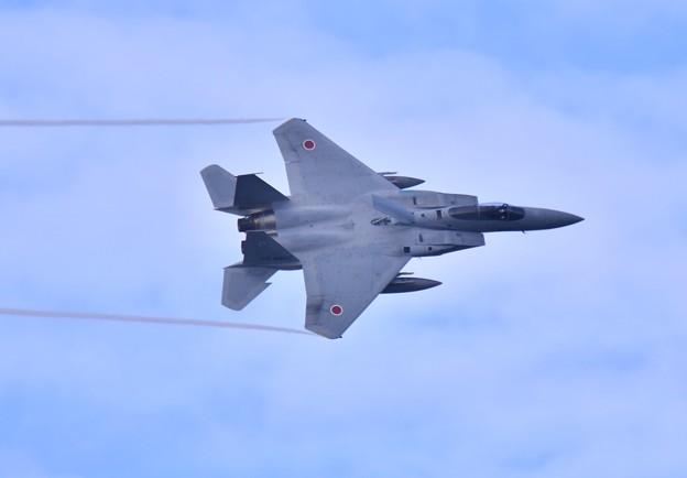 小松基地航空祭。。第303飛行隊ドラゴンの機動飛行