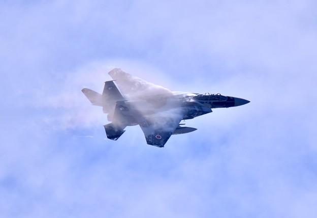新色の飛行教導群アグレッサー 機動飛行(6)