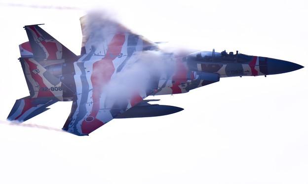 新色の飛行教導群アグレッサー 機動飛行(10)