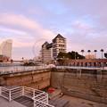 撮って出し。。みなとみらいの日本丸大改修風景  2月3日