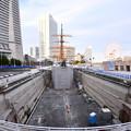 撮って出し。。みなとみらいの日本丸大改修風景(2)  2月3日