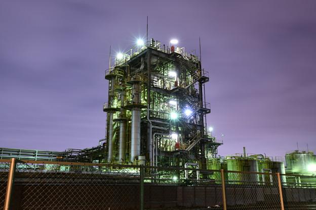 撮って出し。。ちょっと寄り道して久しぶりに工場夜景(1) 2月10日