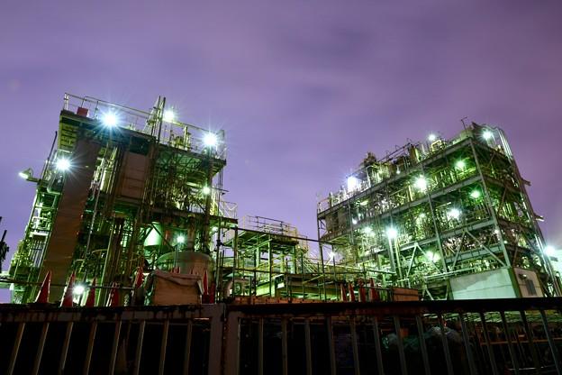 撮って出し。。ちょっと寄り道して久しぶりに工場夜景(2) 2月10日