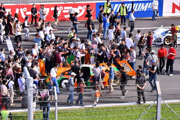 MAZDAファンイベント 栄光のル・マン日本車初の総合優勝マシン