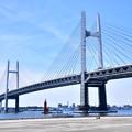 Photos: 撮って出し 横浜ベイブリッジとスカイウォーク 20190428