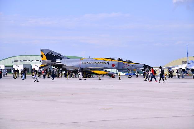 撮って出し 松島基地航空祭 百里からラストファントムスペマ機 展示 20190825