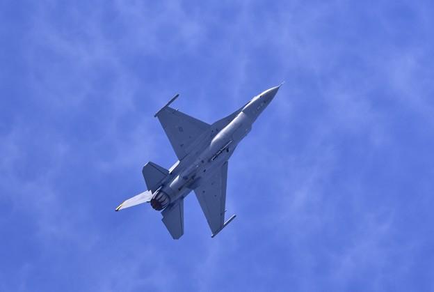 9月の撮って出し。。三沢基地航空祭予行 米空軍F16 デモ飛行 20190908 (2)
