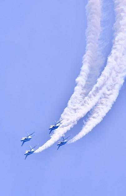 9月の撮って出し。。三沢基地航空祭予行 ブルーインパルス(1)